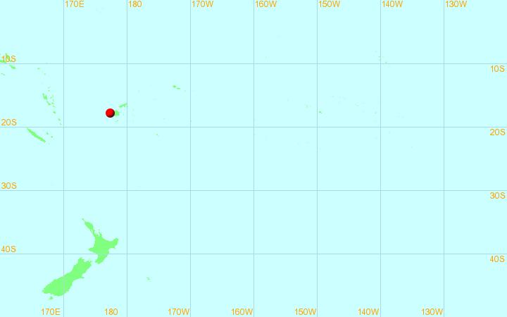Monitoraggio dei cicloni tropicali: Sud-est del Pacifico
